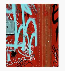 Red Vix Cover Photographic Print