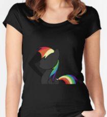 Rainbowdash Super-Neo Women's Fitted Scoop T-Shirt