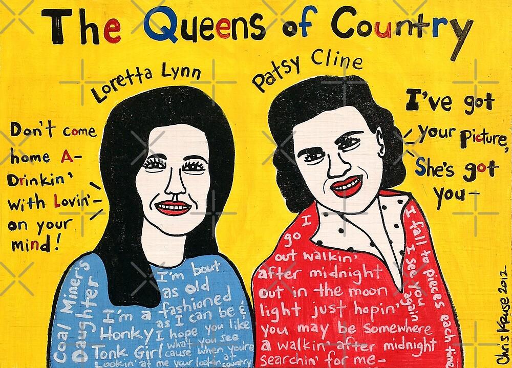 Queens of Country Folk Art by krusefolkart