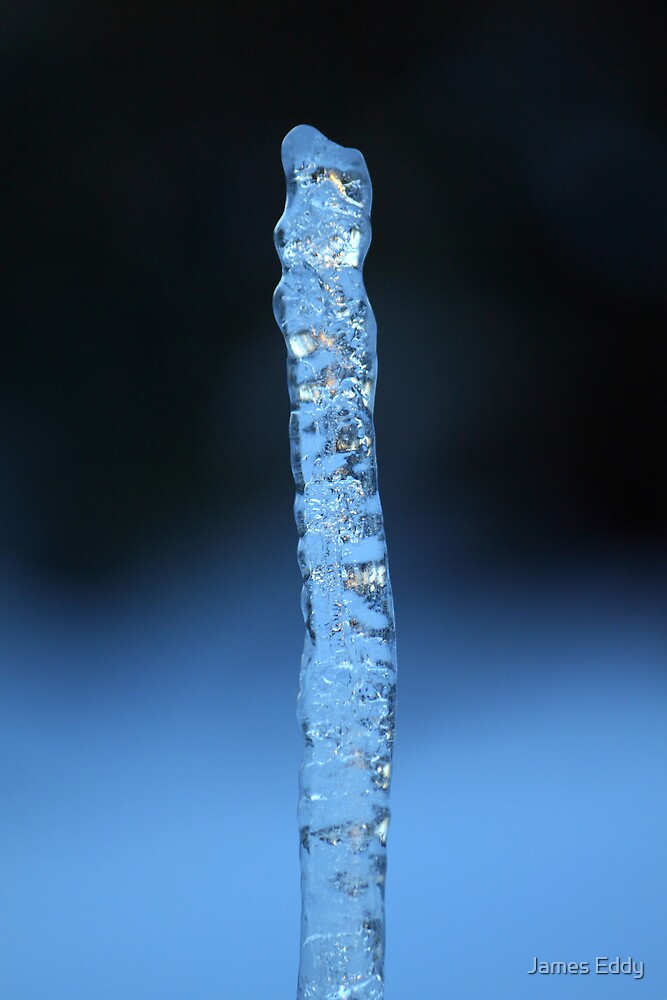 Blue Icicle by James Eddy