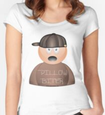 Pillow Biter Women's Fitted Scoop T-Shirt