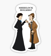 sherlock who? Sticker