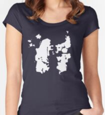 Azeroth Map (super minimal) Women's Fitted Scoop T-Shirt