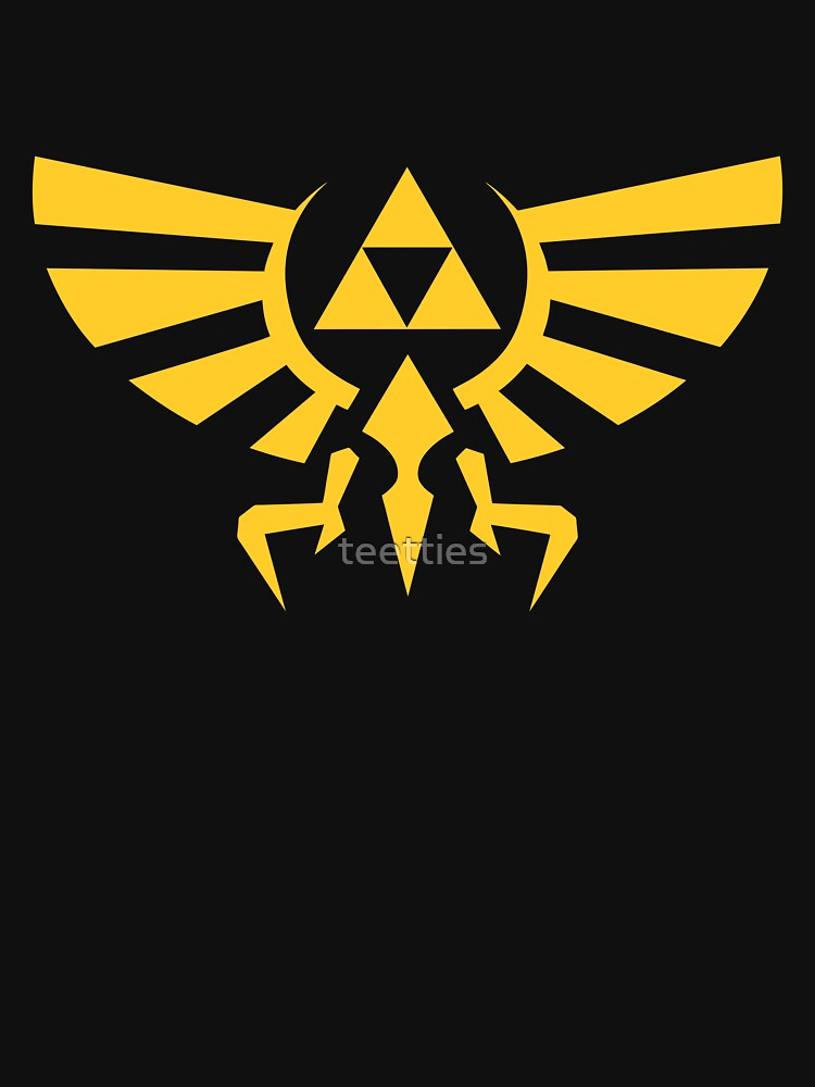 ae1811b61 Crest of hyrule | Unisex T-Shirt, a t-shirt of logo, legend of zelda ...