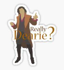 Rumplestiltskin - Really Dearie? Sticker