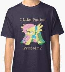 Fluttershy Problem Classic T-Shirt