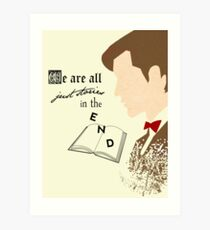 Eleventh Doctor  Art Print