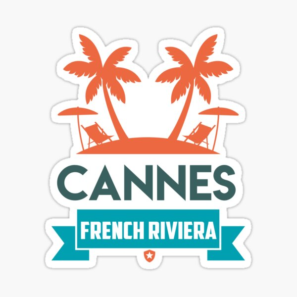 CANNES Sticker