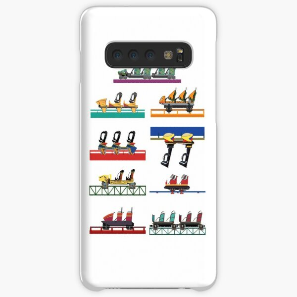 Busch Gardens Coaster Cars V2 Design (with Iron Gwazi!) Samsung Galaxy Snap Case