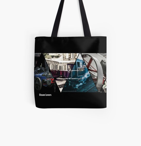 Steam Lovers  All Over Print Tote Bag