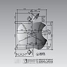 Apple Architect Dimension iPhone Case by Jane McDougall