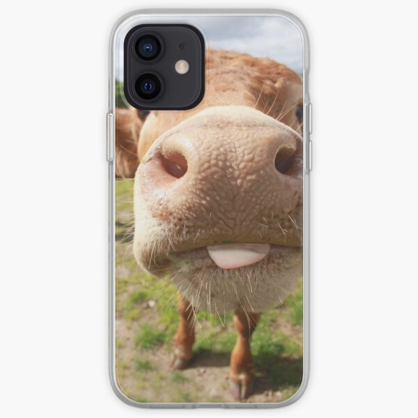 Cheeky Cow! iPhone Soft Case
