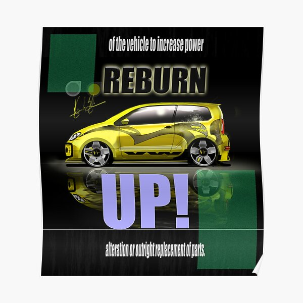 VW UP! Tuning Poster