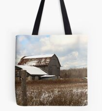 Barn in need of repair........... Tote Bag