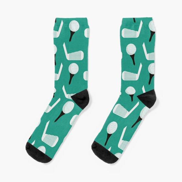 Golf Pattern (Green) Socks