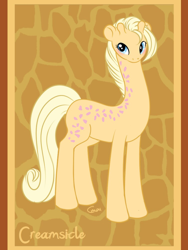 My Little Pony Friends - Creamsicle the Giraffe Print by RileyOMalley
