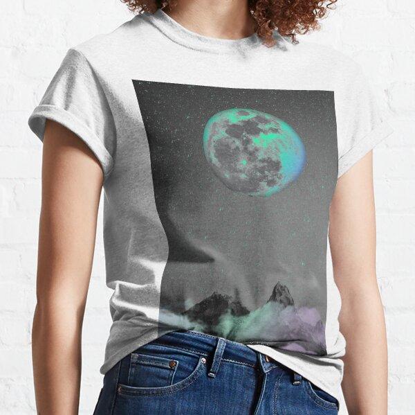 Lune turquoise T-shirt classique