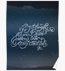 Thoughts Are Stars Poster