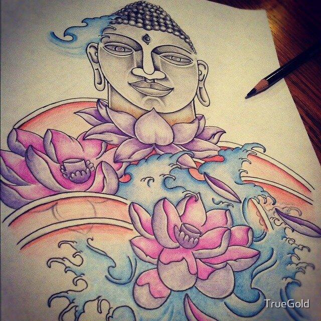 Buddha by TrueGold