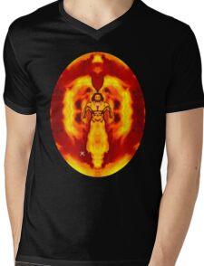 Born of Fire Mens V-Neck T-Shirt