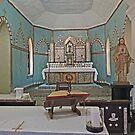 Mother of Pearl altar, Beagle Bay Catholic Church, Western Australia by Margaret  Hyde