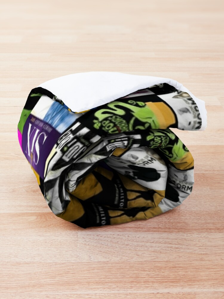 Alternate view of Musicals Collage  Comforter