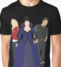 Emma, Regina, and Neal - Once Upon a Time Graphic T-Shirt