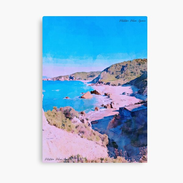 Potistika Beach Poster Canvas Print