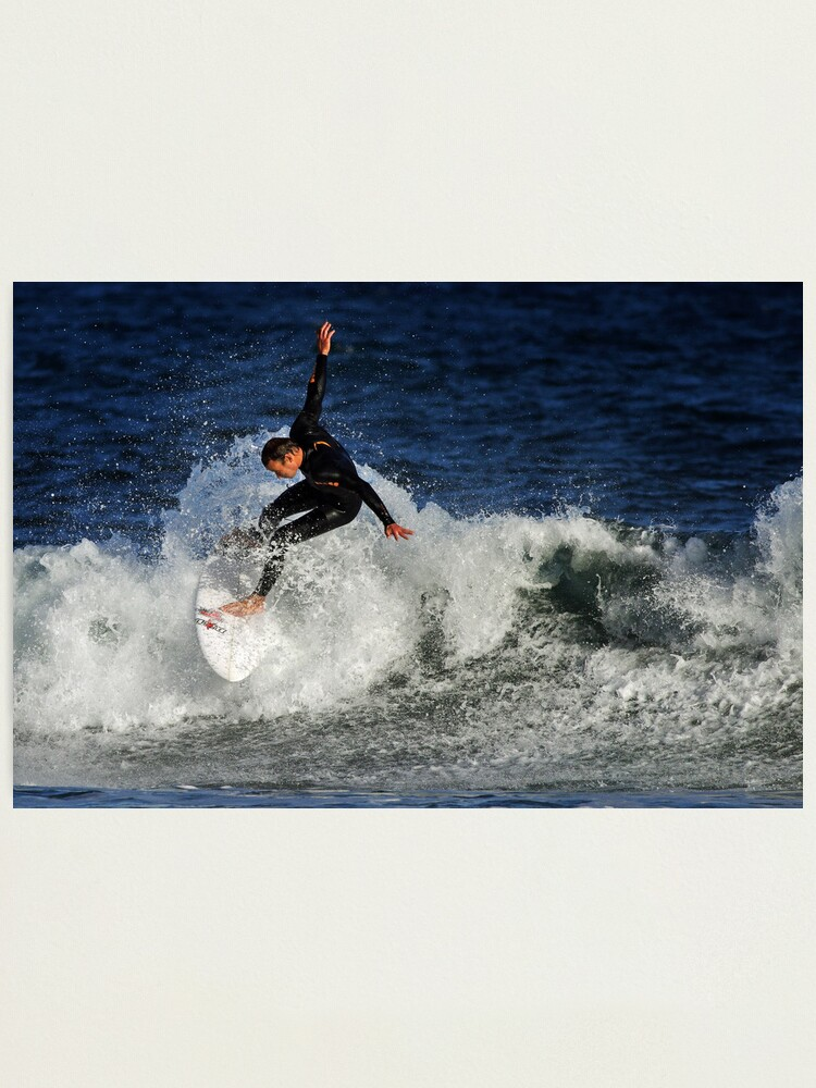 Alternate view of Surfing at Winkipop Photographic Print