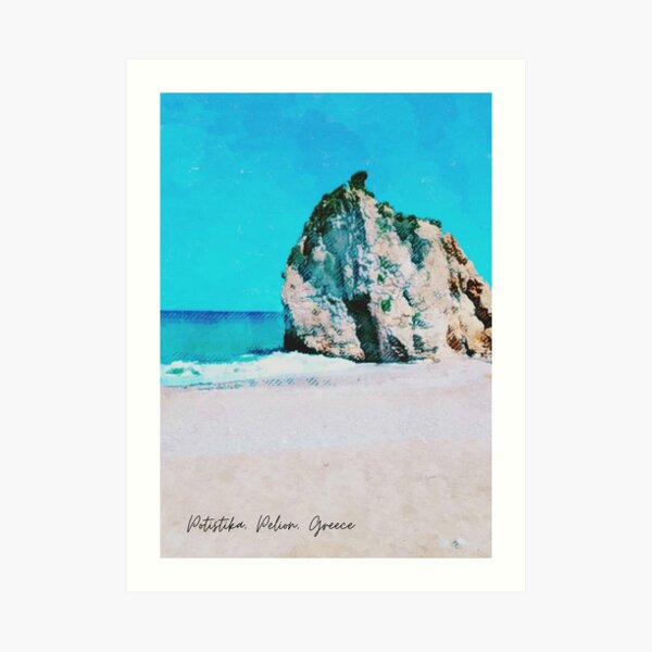 Summer in Greece Art Print