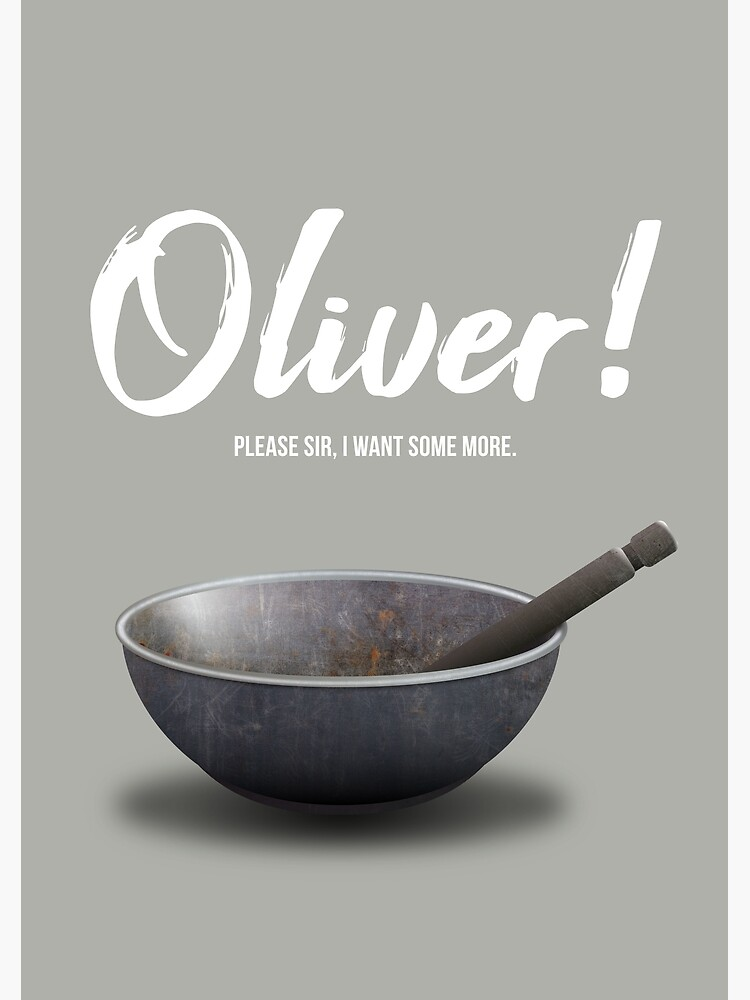 Oliver! - Alternative Movie Poster by MoviePosterBoy