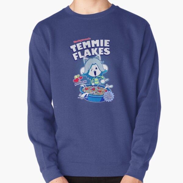 Temmie Flakes! Pullover Sweatshirt