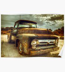 Vintage Ford Pickup Truck Poster