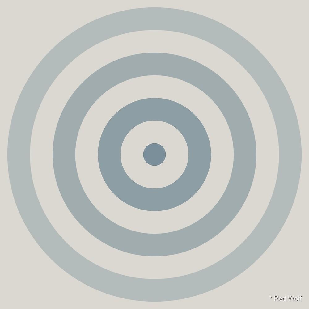 Geometric Pattern: Rondel: Bluestone by * Red Wolf