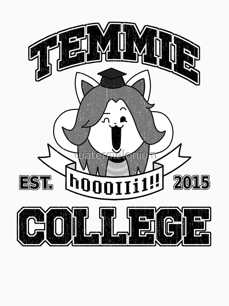 Temmie College by watermelonium
