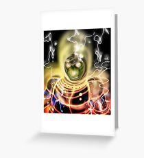 Reptile Warrior Greeting Card