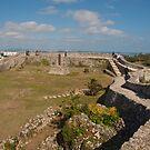 Nakagusuku Castle 2nd enclosure by Quixotegraphics