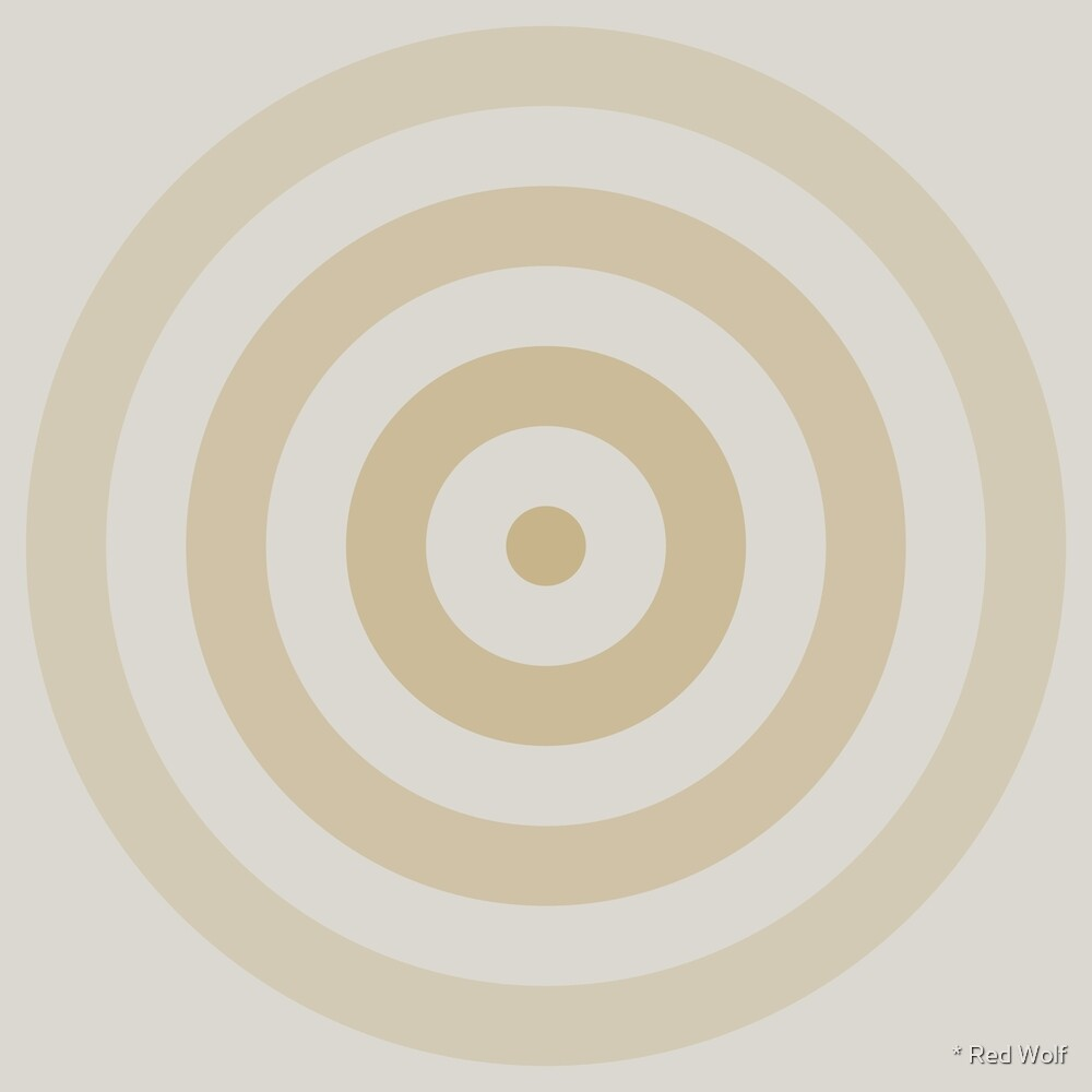 Geometric Pattern: Rondel: Sandstone by * Red Wolf