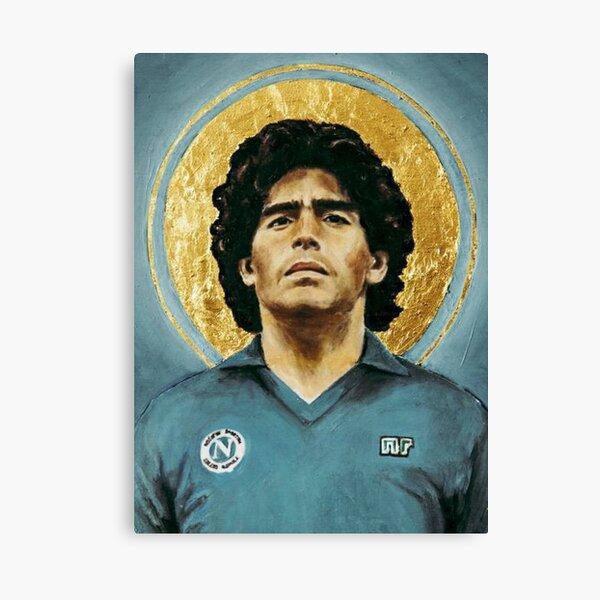 Diego Maradona the Pibe de Oro Gold Boy Glossy Poster Print Wall Art Football