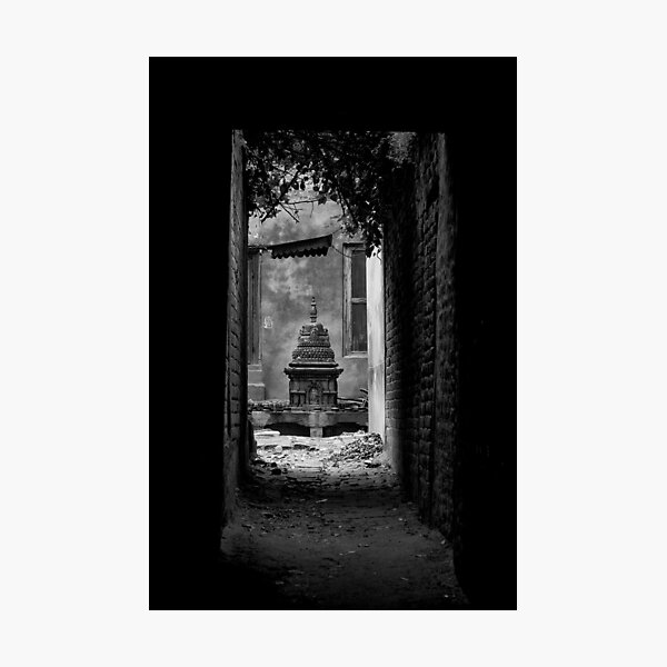 Side street Photographic Print