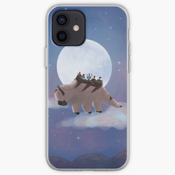 Appa and Team Avatar: Under the Moon iPhone Soft Case