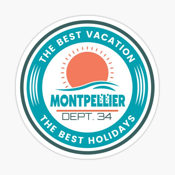 MONTPELLIER Sticker