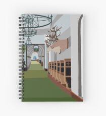 Chateau Lake Louise Spiral Notebook