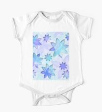 Case abstract lotus flower One Piece - Short Sleeve