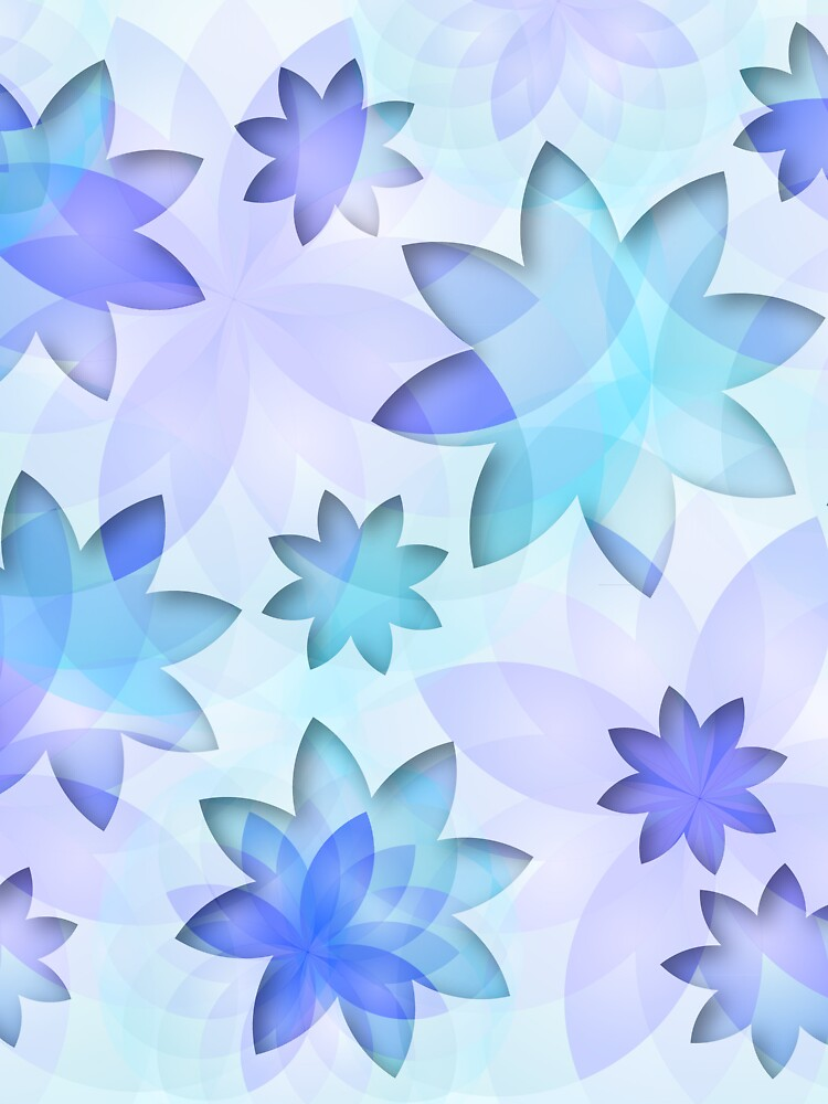 Case abstract lotus flower by MEDUSA GraphicART