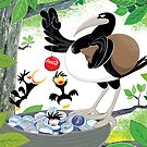 Thieving Magpies by drawgood