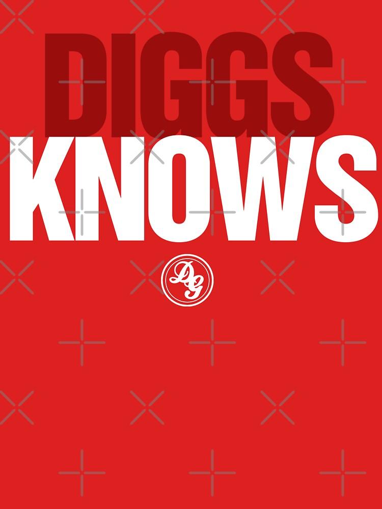 Discreetly Greek - Diggs Knows - Nike Parody by integralapparel