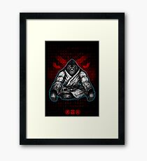 Black Belt Gorilla  Framed Print