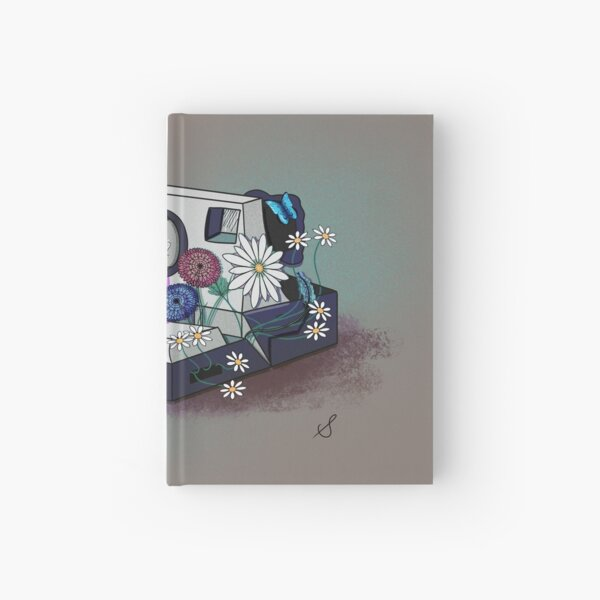 Old Polaroid Hardcover Journal