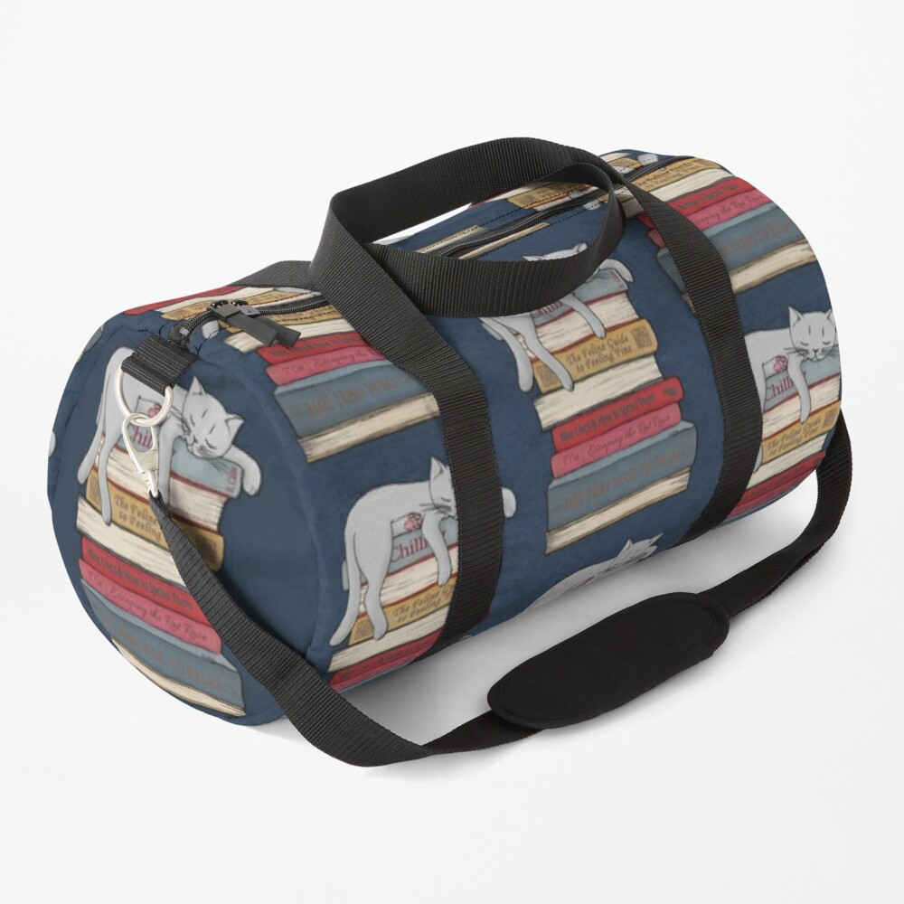 How to Chill Like a Cat Duffle Bag